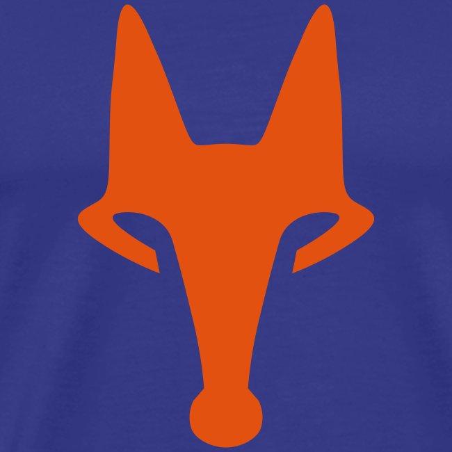 Fox on Blue -  T-Shirt