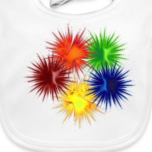 Five Paintballz - Baby Organic Bib