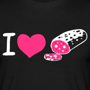 I love ... - T-shirt Homme