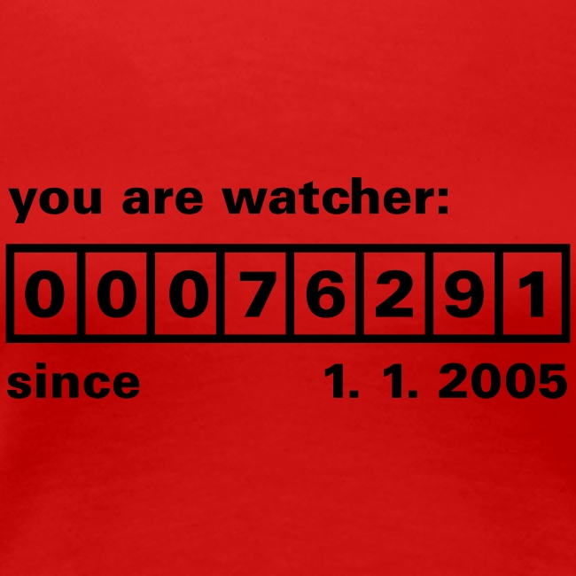 you are watcher ....