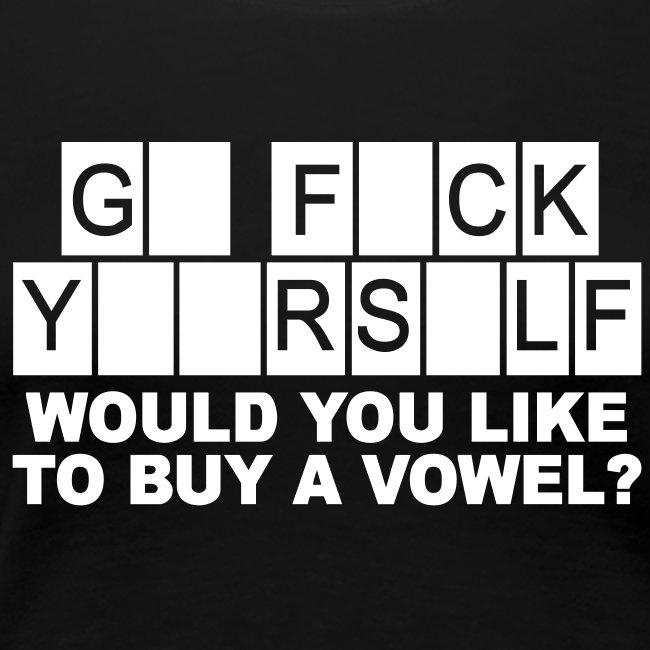 Möchten Sie einen Vokal kaufen?