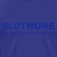 Motiv ~ SLOTHURE - Shirt: hellblau; Druck: blau
