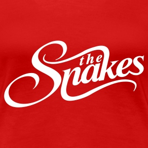 Red The Snakes Ladies' - Women's Premium T-Shirt