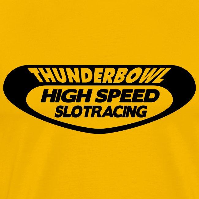 Thunderbowl - Shirt: gelb; Druck: schwarz