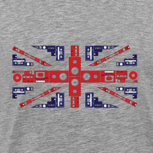 Ash British Music T-Shirt - Men's Premium T-Shirt