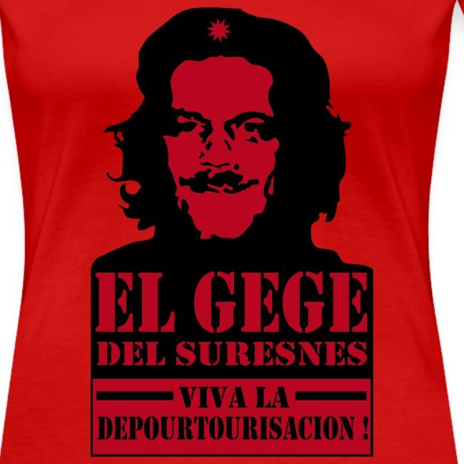 El Gégé Del Suresnes (t-shirt femme)