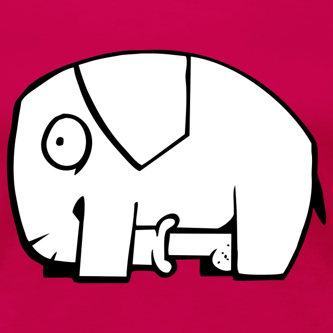 Unanständiger Elefant