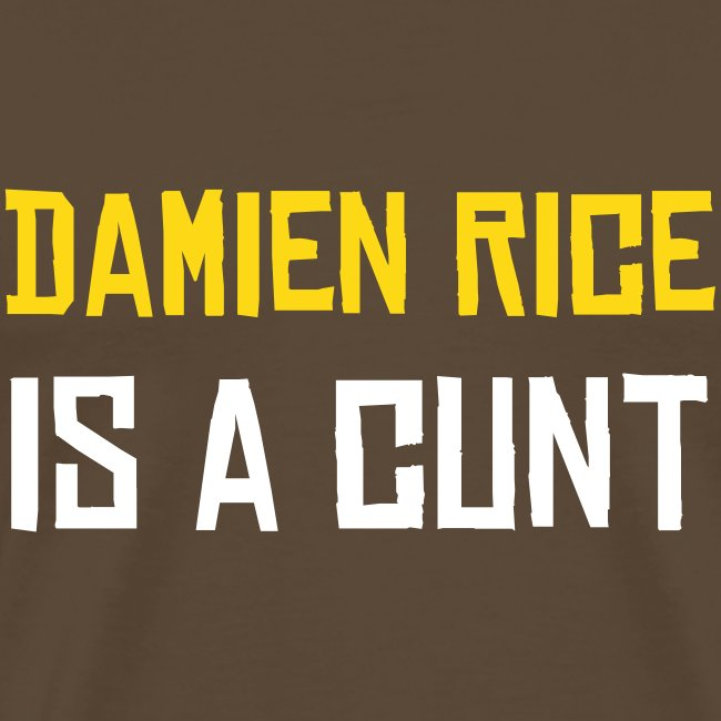 Damien Rice is a cunt