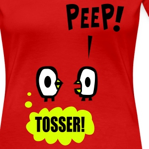 Red PEEP! Ladies' - Women's Premium T-Shirt