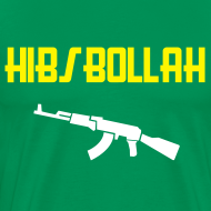 Design ~ Limited edition (two colour) Hibs-bollah + AK47- only a couple left....