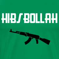 Design ~ Limited edition (two colour) Hibs-bollah + AK47 - only a couple left....