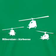 Design ~ hibernian & iconic US vietnam choppers