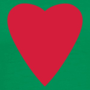Bottlegreen heart T-Shirts - Men's Premium T-Shirt