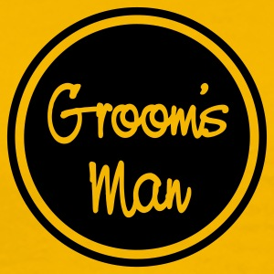 Yellow groomsmen T-Shirts - Men's Premium T-Shirt