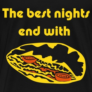 The best Nights End with .. a Doner - Men's Premium T-Shirt
