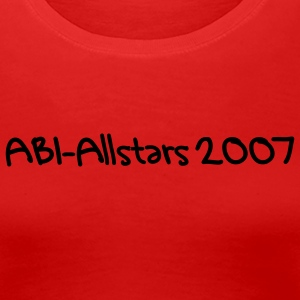 Red allstars Ladies' - Women's Premium T-Shirt