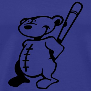 Sky Baseball Teddy T-Shirts - Men's Premium T-Shirt
