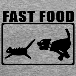 Ash Fast Food 2 T-Shirts - Men's Premium T-Shirt