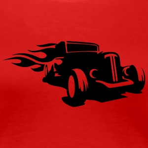 Red Hot Rod Ladies' - Women's Premium T-Shirt