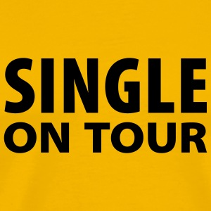 Gelb Single on Tour T-Shirt - Männer Premium T-Shirt
