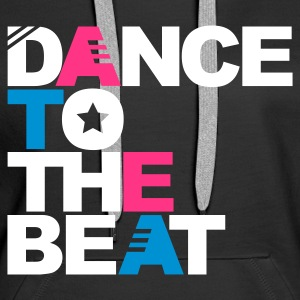 Schwarz Dance to the Beat Pullover - Frauen Premium Hoodie