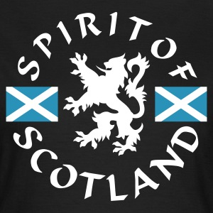 Chocolate Spirit-of-Scotland Girlie - Frauen T-Shirt