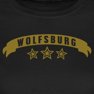 Chocolate Stadtshirt Wolfsburg Girlie - Frauen T-Shirt