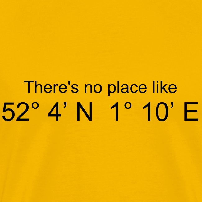 There's no place like..... (Yellow)