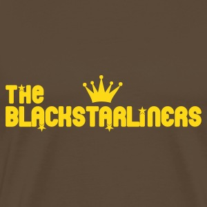 Marron blackstarliners T-shirts - T-shirt Premium Homme