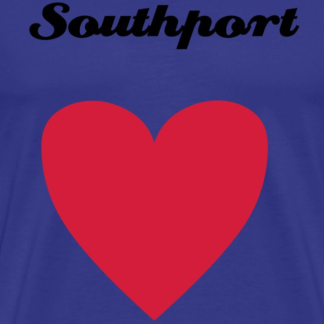 Southport Heart Blue