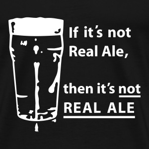 Black Real Ale 4 Black Shirts T-Shirts - Men's Premium T-Shirt