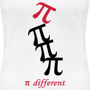 Pi-different - Frauen Premium T-Shirt