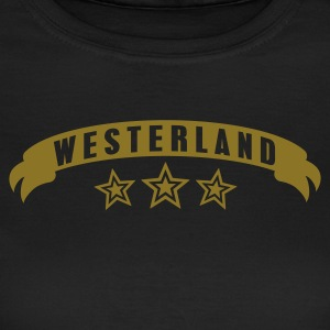 Chocolate Stadtshirt Westerland Girlie - Frauen T-Shirt