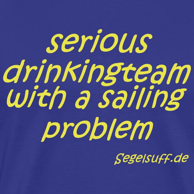 serious drinking team with a sailing problem