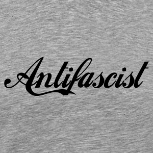 Antifascist1 - Männer Premium T-Shirt
