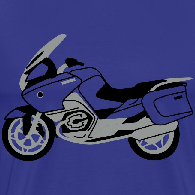 R1200RT Silver Lowers (Royal Blue)