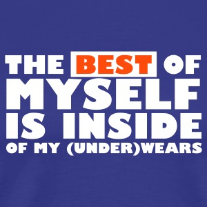 THE BEST IS INSIDE - T-shirt Premium Homme