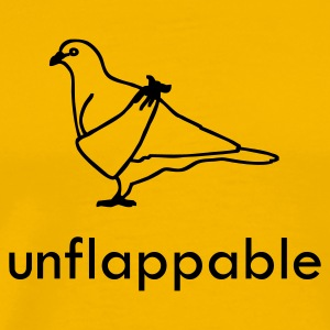 Yellow Unflappable T-Shirts - Men's Premium T-Shirt