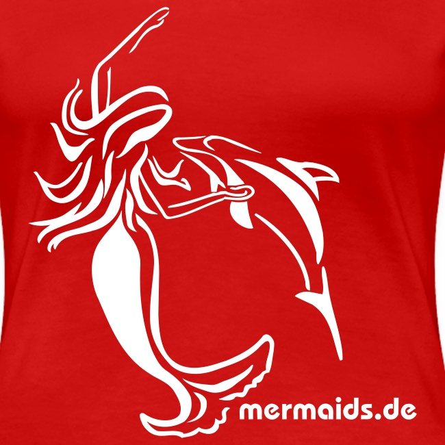 Mermaids Seejungfrau und Delphin