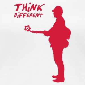 THINK DIFFERENT - T-shirt Premium Femme