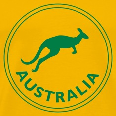 Yellow australia T-Shirts