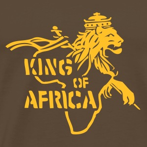 King Of Africa (brown Comfort T) - Männer Premium T-Shirt