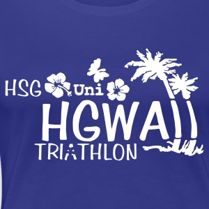 HSG Triathlon HGWAII - Frauen Premium T-Shirt