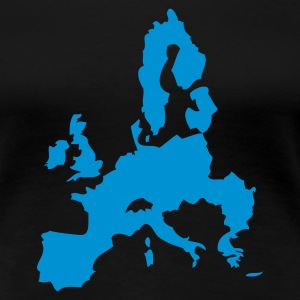 Black Europe - European Union Ladies' - Women's Premium T-Shirt