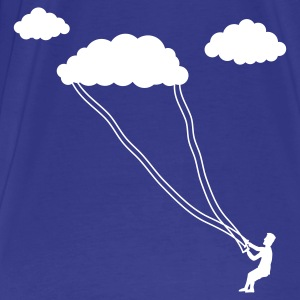 Sky cloud kite T-Shirts - Men's Premium T-Shirt