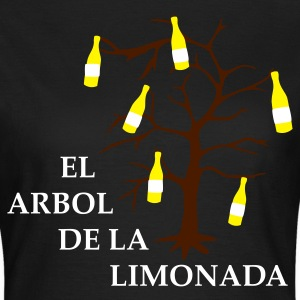 el arbol de la limonada olive-white-brown - girlie - Frauen T-Shirt
