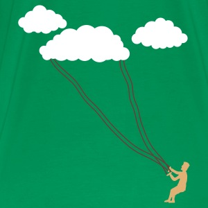 Grass green cloud kite T-Shirts - Men's Premium T-Shirt