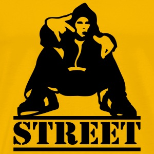 Yellow street T-Shirts - Men's Premium T-Shirt