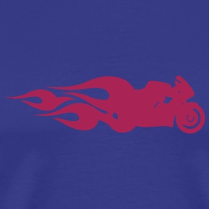 Sky Hot Bike T-Shirts - Mannen Premium T-shirt