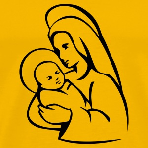 Yellow Maria T-Shirts - Men's Premium T-Shirt